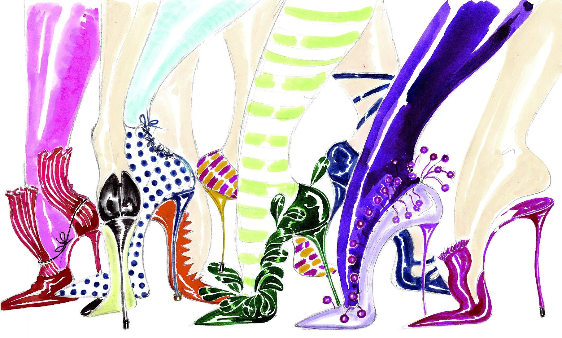 Manolo Blahnik. Shoe art