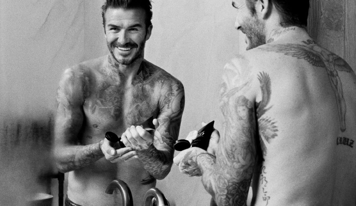 Put on handsome with Beckham! Reaches its brand men's care: HOUSE 99 👨🏻