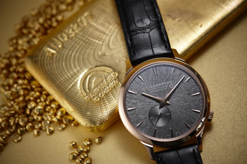 Chopard bet (and win) the ethical and responsible gold I enjoy! 🏅