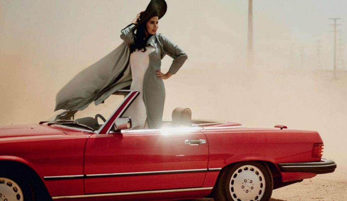 Portada: Vogue Arabia with pioneer women. ¡Go!  🚗