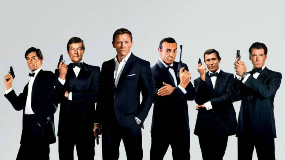 James Bond style