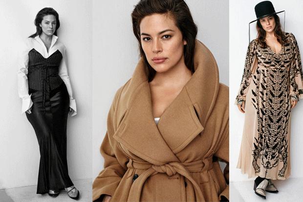 Ashley Graham para 'Studio' otoño/invierno 2016/2017 de H&M