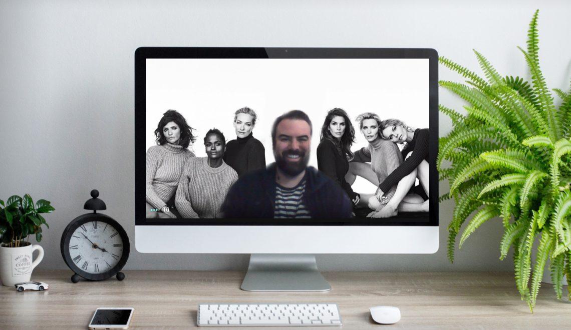 Fondos de moda para videollamadas